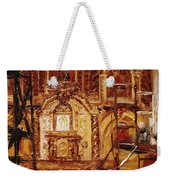Within The Scaffold Weekender Tote Bag