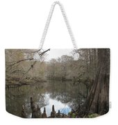 Withlacoochie In Winter Weekender Tote Bag