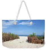 Wladyslawowo White Sand Beach At Baltic Sea Weekender Tote Bag