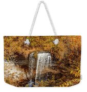 Wolcott Falls Ledge Weekender Tote Bag by William Norton