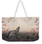 Wolf At Twilight Weekender Tote Bag