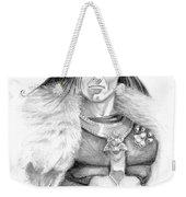 Wolf Barbarian Weekender Tote Bag