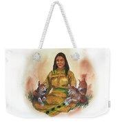Wolf Clan Mother Weekender Tote Bag