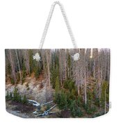 Wolf Creek Pass Forest Landscape Weekender Tote Bag