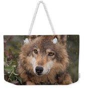 Wolf Face Weekender Tote Bag