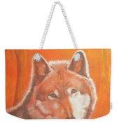Wolf Home Burning Weekender Tote Bag