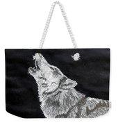 Wolf Howl Weekender Tote Bag