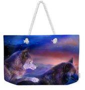 Wolf Mates Weekender Tote Bag