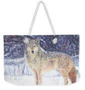 Wolf Of The North Weekender Tote Bag