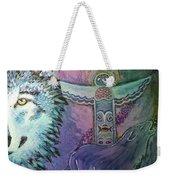 Wolf Protector Weekender Tote Bag