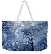 Wolf Weekender Tote Bag by Svetlana Sewell