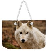 Wolf Watching Weekender Tote Bag