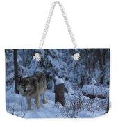 Wolf Wonderland Weekender Tote Bag