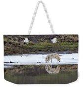 Wolflection Weekender Tote Bag
