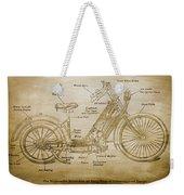 Wolfmueller Motor Cycle 1894 Weekender Tote Bag