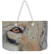 Wolf's Gaze Weekender Tote Bag