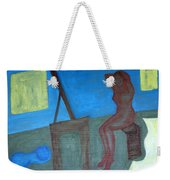Woman After Bathing Weekender Tote Bag