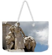 Woman And Bull, Marquis De Pombal Monument Weekender Tote Bag