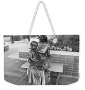 Woman And Child Sculpture Grand Junction Co Weekender Tote Bag