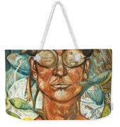 Woman And Fishes Weekender Tote Bag