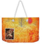 Woman And Life Weekender Tote Bag