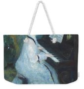 Woman At The Piano Weekender Tote Bag