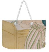 Woman Bathing Weekender Tote Bag