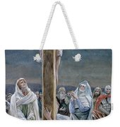 Woman Behold Thy Son Weekender Tote Bag by Tissot
