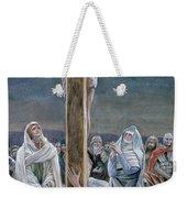 Woman Behold Thy Son Weekender Tote Bag