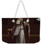 Woman From The Island Of Patmos Weekender Tote Bag