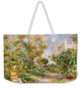 Woman In A Landscape Weekender Tote Bag