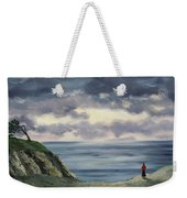 Woman In A Red Shawl Weekender Tote Bag