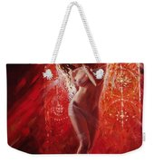 Woman In Church Weekender Tote Bag