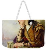Woman In Love Weekender Tote Bag by Henry Nelson O Neil