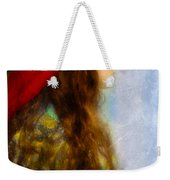 Woman In Medieval Gown Weekender Tote Bag by Jill Battaglia