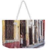 Woman In The Door Weekender Tote Bag