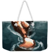Woman In The Water  Weekender Tote Bag