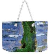 Woman In The Wind By The Sea 1907 Weekender Tote Bag