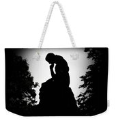 Woman In Thought Weekender Tote Bag