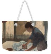 Woman Ironing Weekender Tote Bag