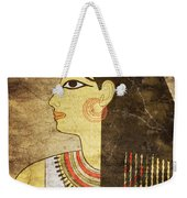 Woman Of Ancient Egypt Weekender Tote Bag