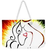 Woman Of Love Weekender Tote Bag