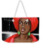 Woman Of The Candelabra Weekender Tote Bag