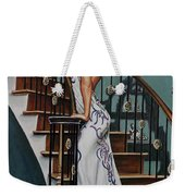 Woman On A Staircase 3 Weekender Tote Bag