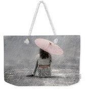 Woman On The Street Weekender Tote Bag