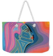 Woman Weekender Tote Bag