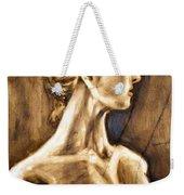Woman Weekender Tote Bag by Thomas Valentine