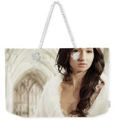 Woman Wearing Crown Weekender Tote Bag