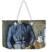 Woman With A Coffeepot  Weekender Tote Bag
