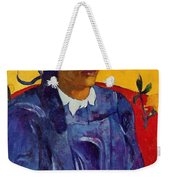 Woman With A Flower 1891 Weekender Tote Bag